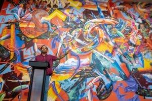 Yatika Starr Fields Mural